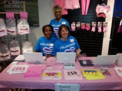Race for the Cure volunteering