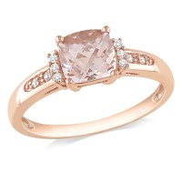 Wedding Jewelry Wednesday: Rose Gold Engagement Rings ...
