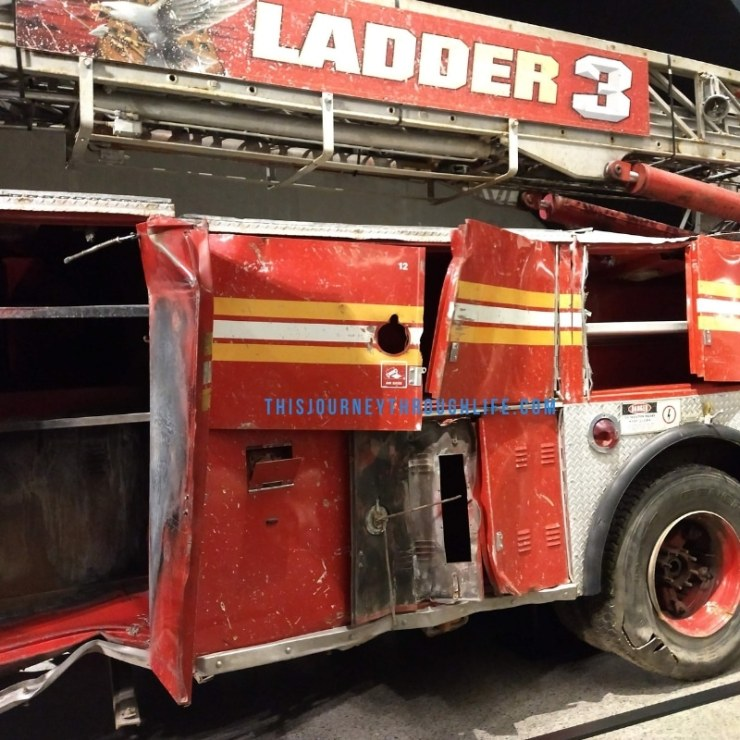 This Journey Through Life - NYC 911 memorial fire engine