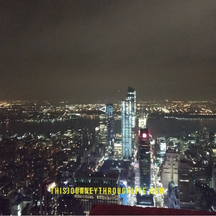 This Journey Through Life - NYC view from Empire State building