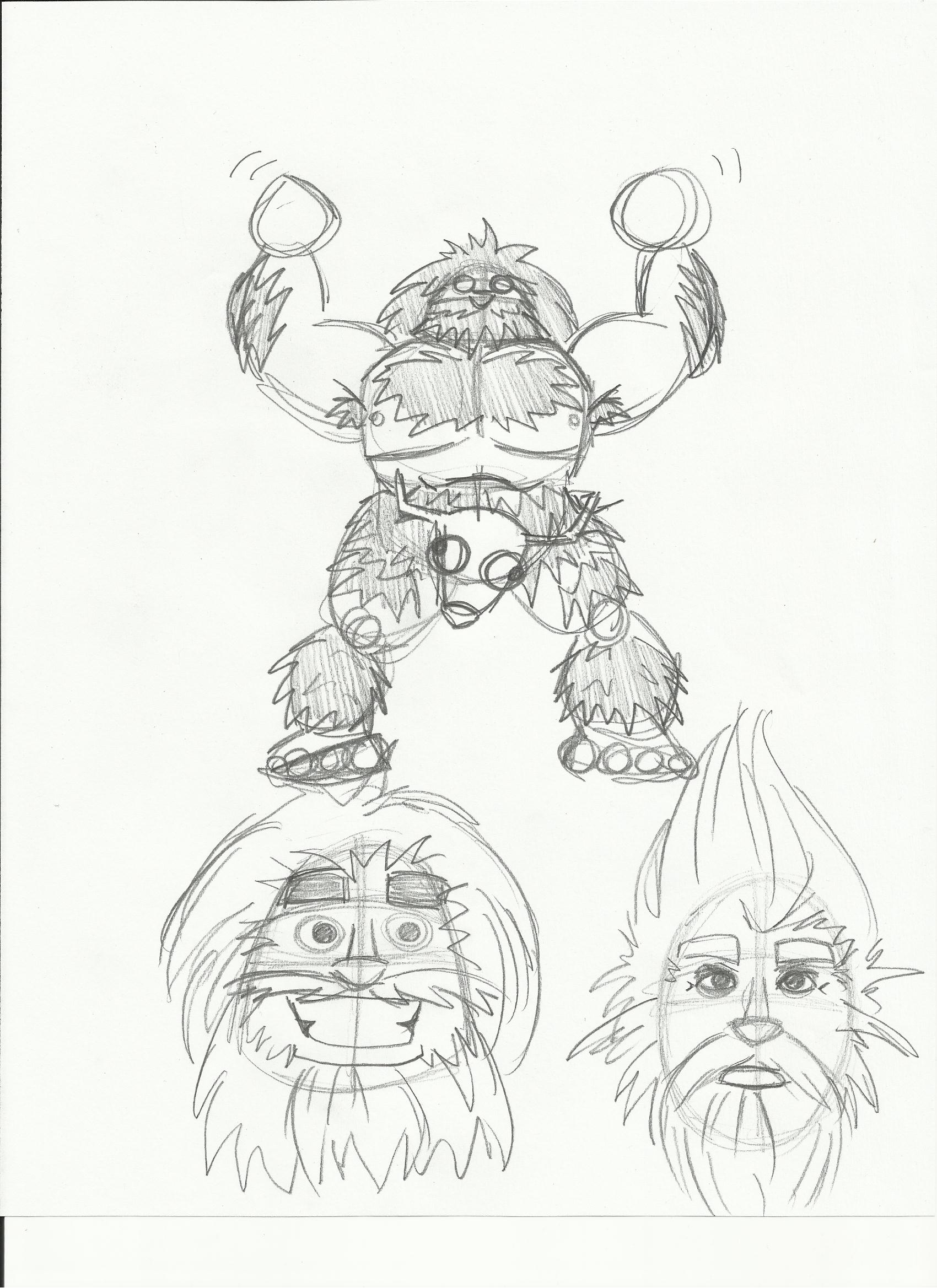 Character Sketches For My Epic Of Gilgamesh