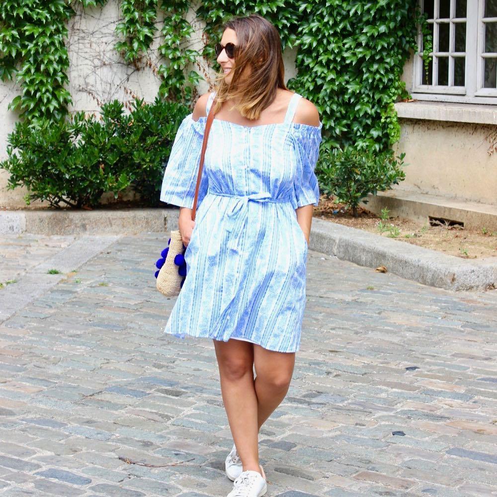 Nouvel article sur le blog avec ma nouvelle robe claudiepierlotofficielhellip
