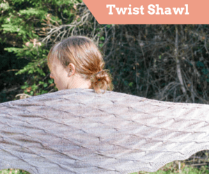 Twist Shawl Blog Ad