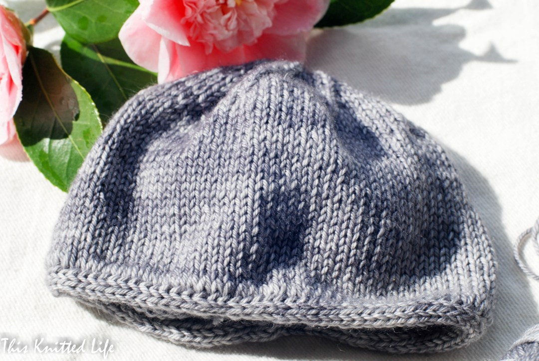 Simple baby hat with an ICord Cast On