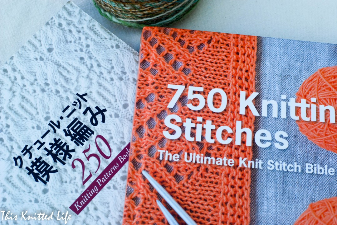 Knitting stitch dictionaries are a must for every knitter!