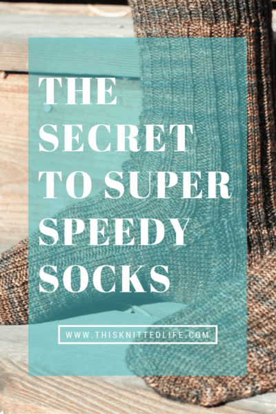 The Secret To Super Speedy And Easy Sock Knitting Tributary