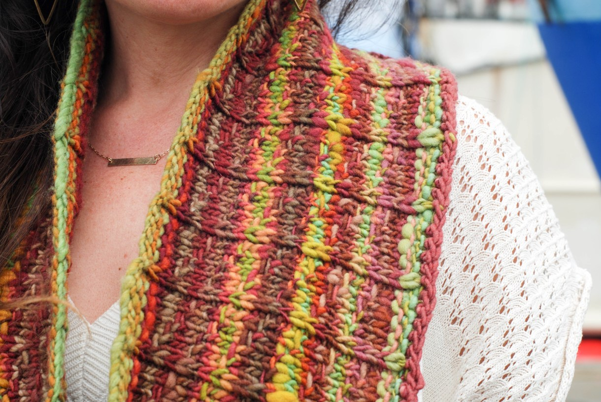 Bayland Cowl knitting pattern by Andrea @ This Knitted Life