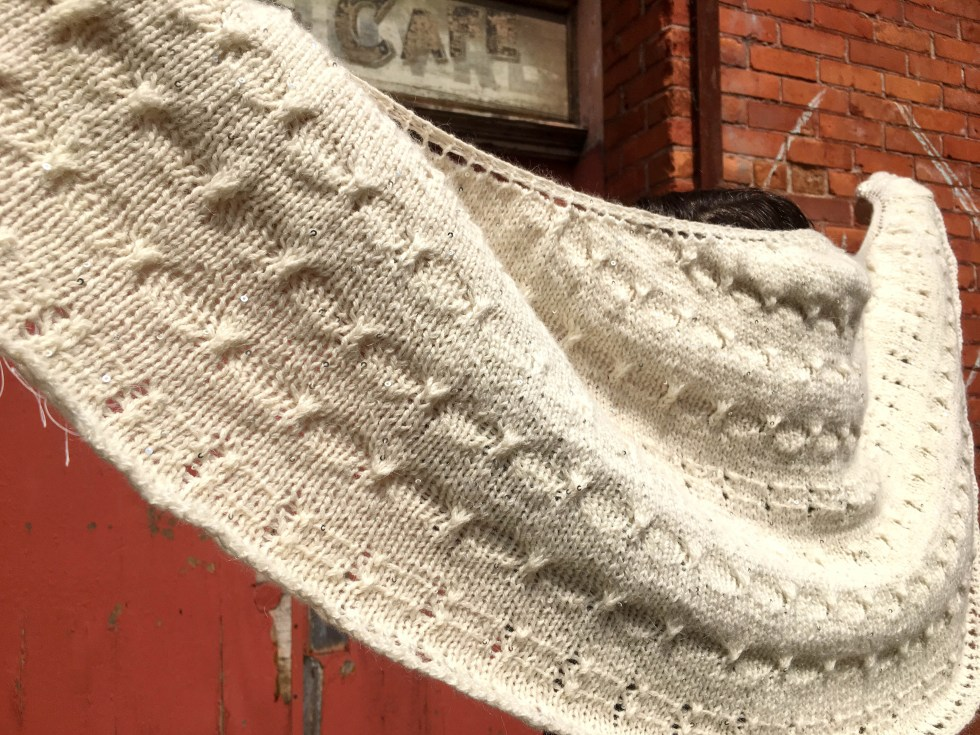 Take Me to the Party Shawl by Andrea @ This Knitted Life