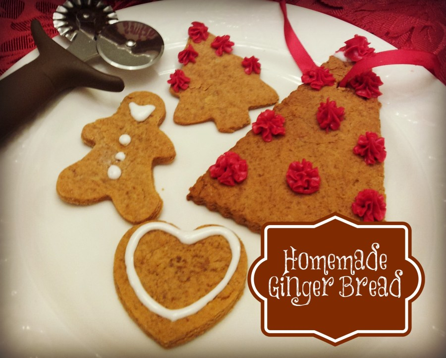 Homemade Ginger Bread Cookie Recipe