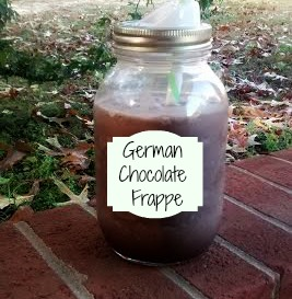German Chocolate Frappe