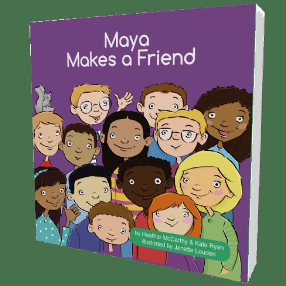 MayaMakesAFriendBook