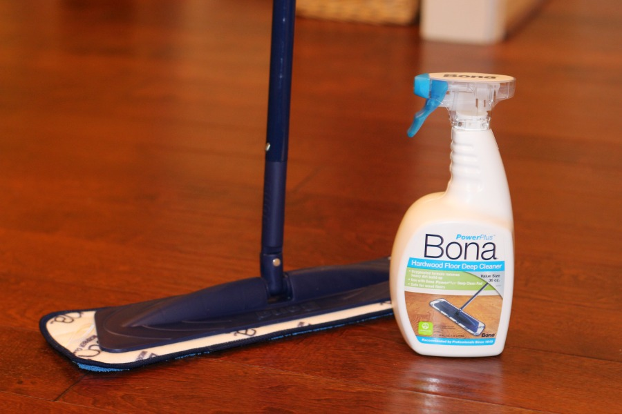 I Use The Bona PowerPlus Hardwood Floor Deep Cleaner And Bona PowerPlus  Microfiber Deep Clean Pad To Get The Most Out Of My Cleaning.
