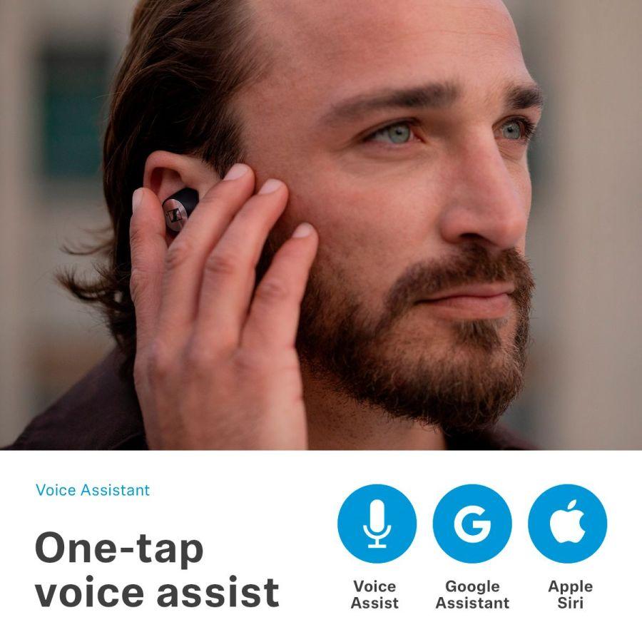 Sennheiser Momentum True Wireless earbuds tap control