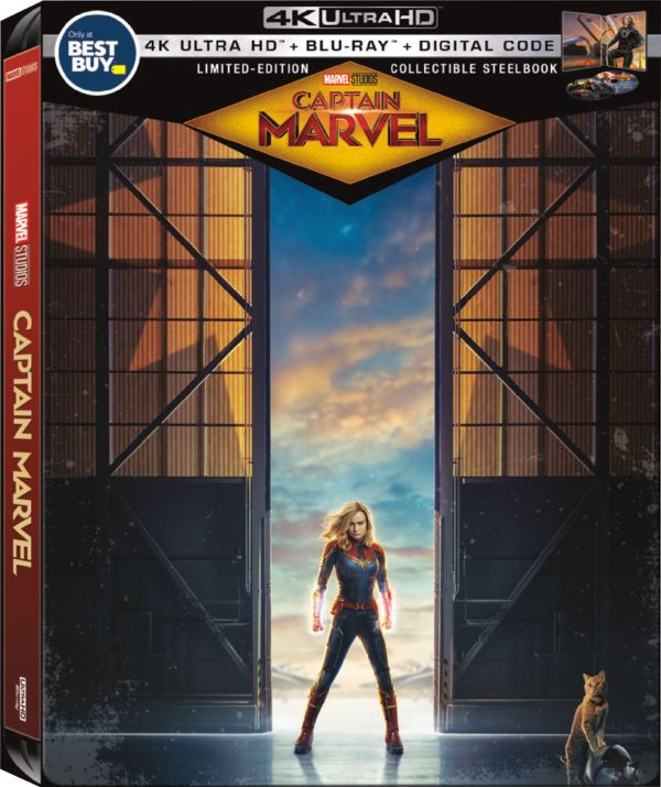 Captain Marvel SteelBook exterior