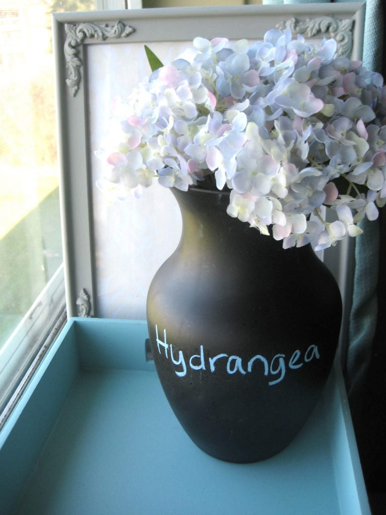 DIY Chalkboard Paint ideas Vase Tutorial