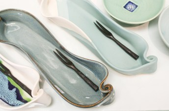 Olive dishes $26,(northern lights, medley and robin's egg)