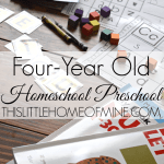Four-Year Old Homeschool Preschool