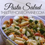 World's Easiest Pasta Salad