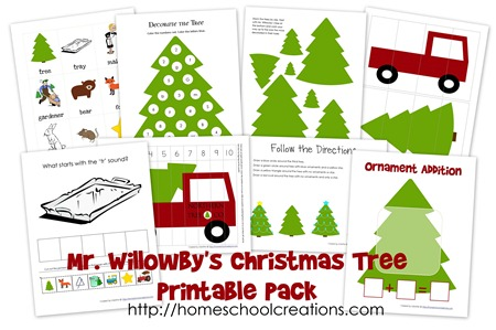 Mr Willowby's Christmas Tree Free Printables - This Little Home of Mine