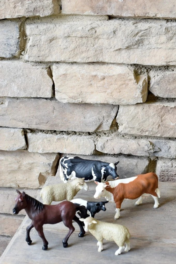 Pre-school Unit Prep List Farm Animals (Animal Sorting Activity) by This Little Home of Mine