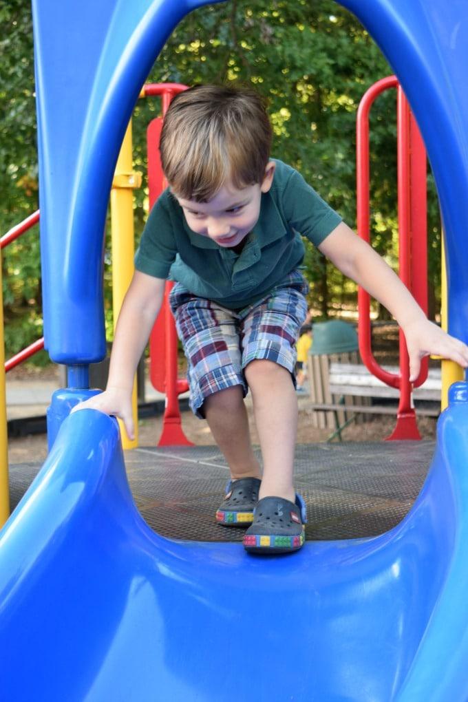 Dan Nicholas Park Salisbury NC Playground by This Little Home of Mine