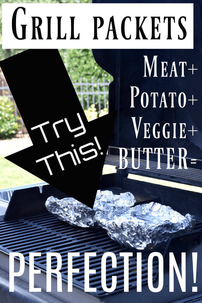 Simple Summer Pork Chops on the Grill - Grill Packets by This Little Home of Mine