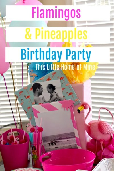 Birthday Party: Flamingos & Pineapples