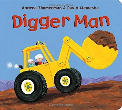 Digger Man - Featured on This Little Home of Mine