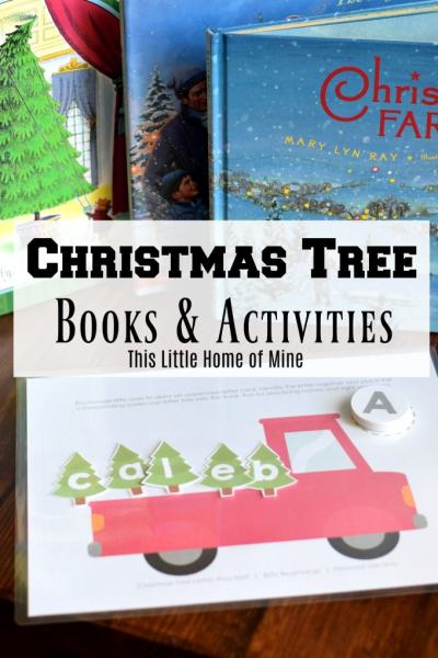 Our Favorite Christmas Tree Books and Activities by This Little Home of Mine