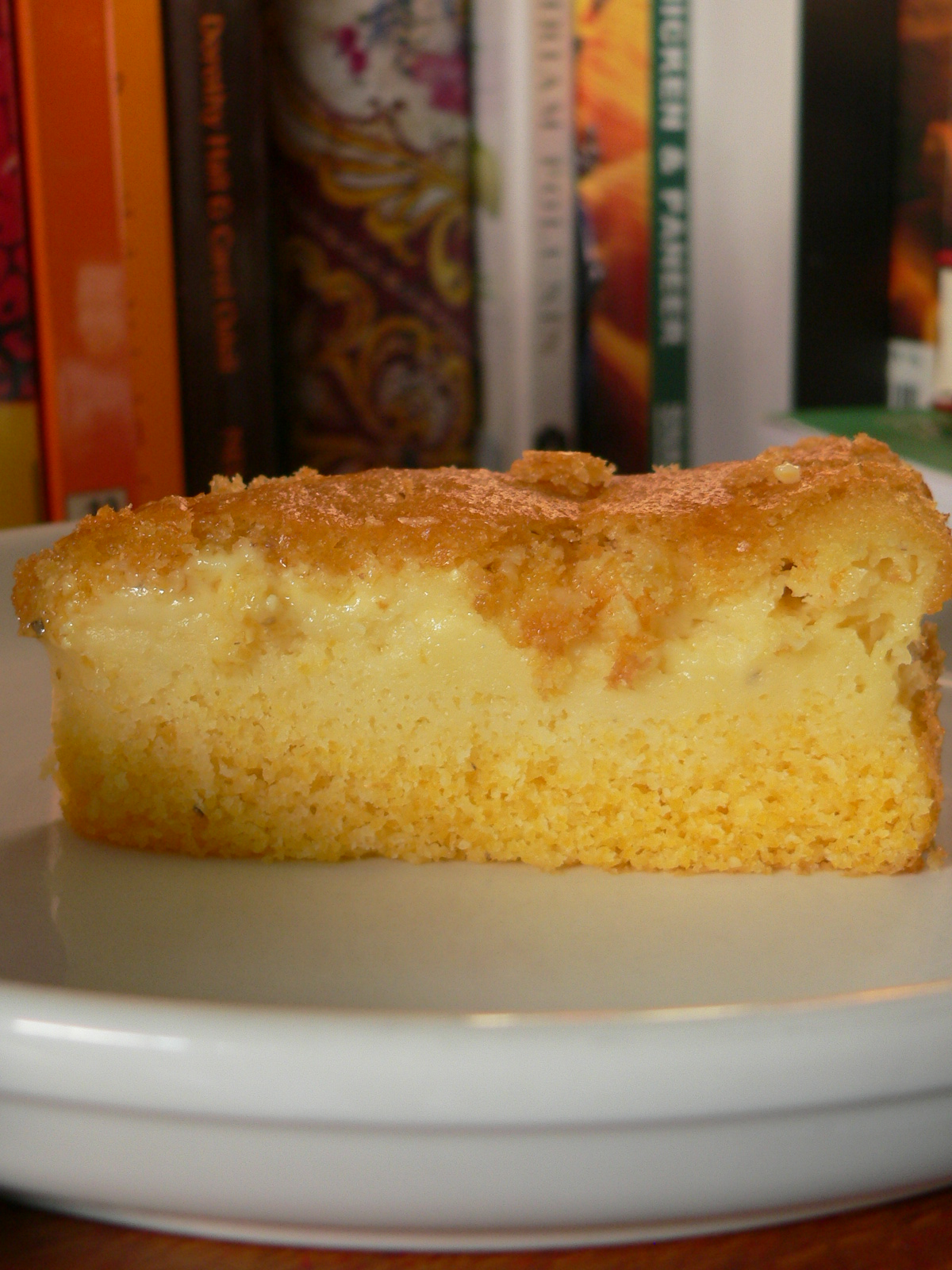 Cake With Custard Filling Recipe