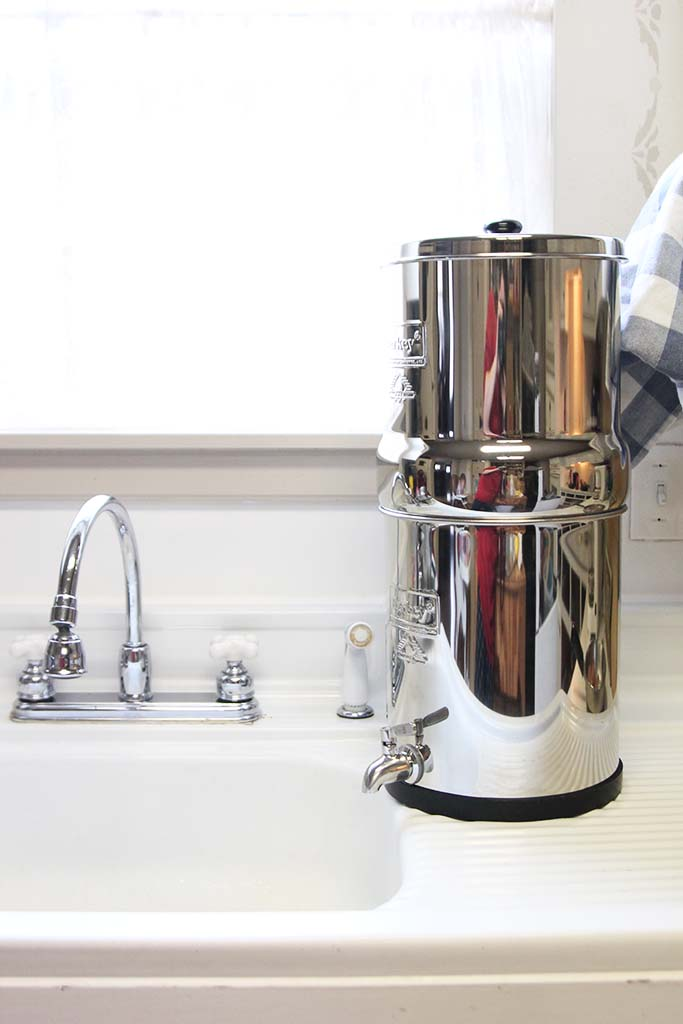 berkey water filter assembly how to