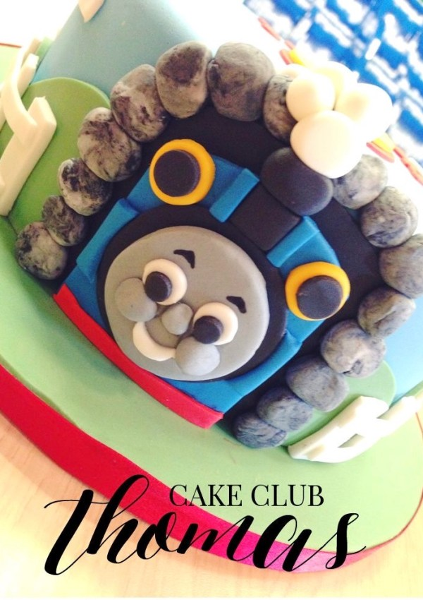 Thomas the tank cake Thomas and friends