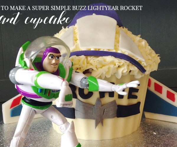 CAKE CLUB | HOW TO MAKE A BUZZ LIGHTYEAR ROCKET CAKE