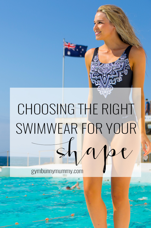 Choosing the right swimwear for your bodytype with Zoggs