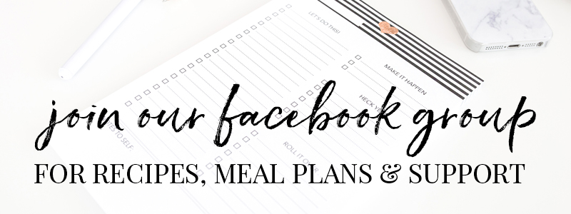 Join our Facebook group for lot's of Slimming World recipes, meal plans, support & more!