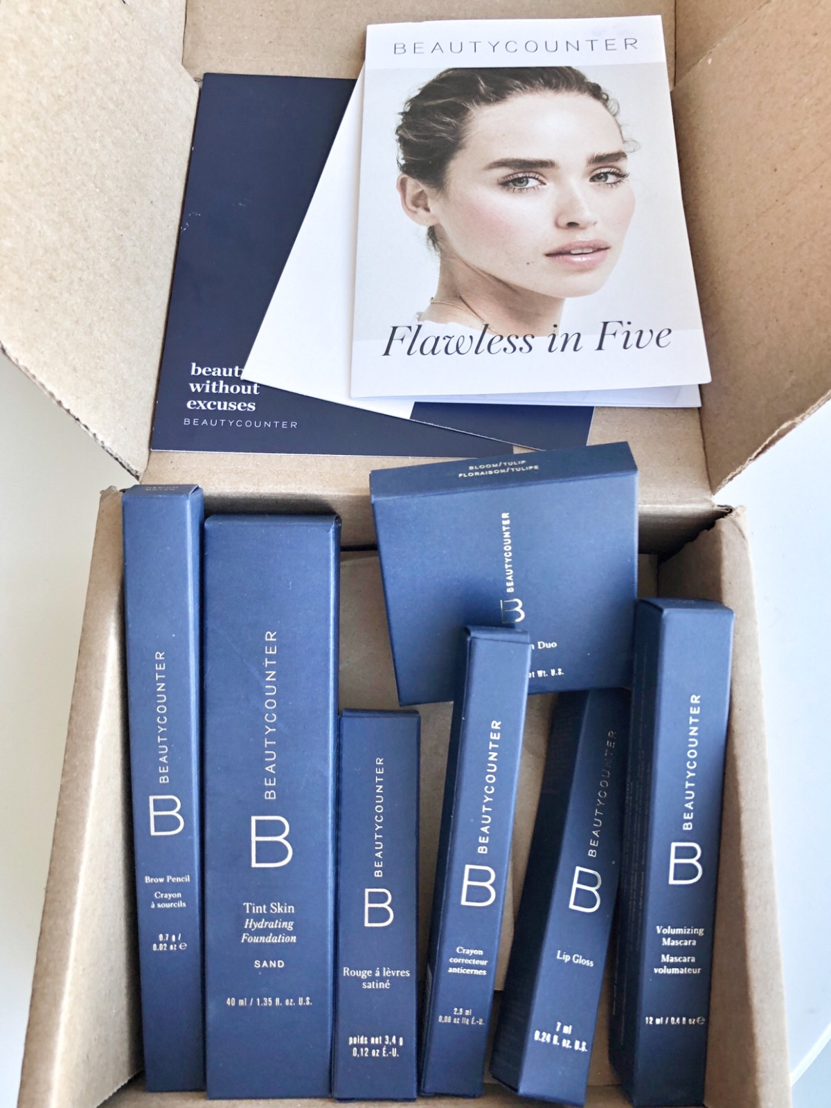 beautycounter flawless in five packaging