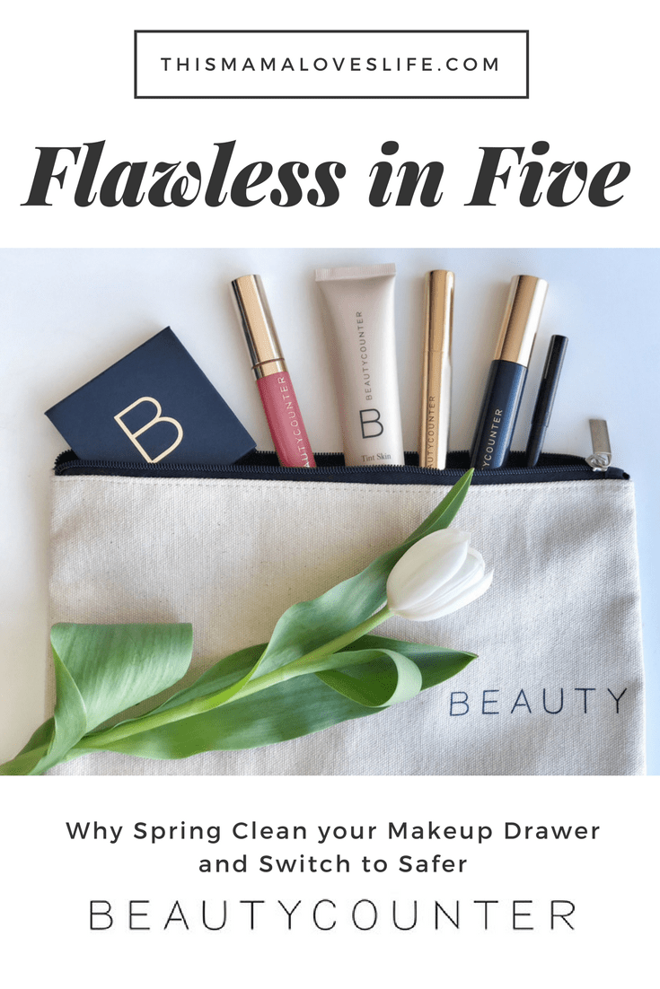 Why I chose safer makeup with beautycounter - review