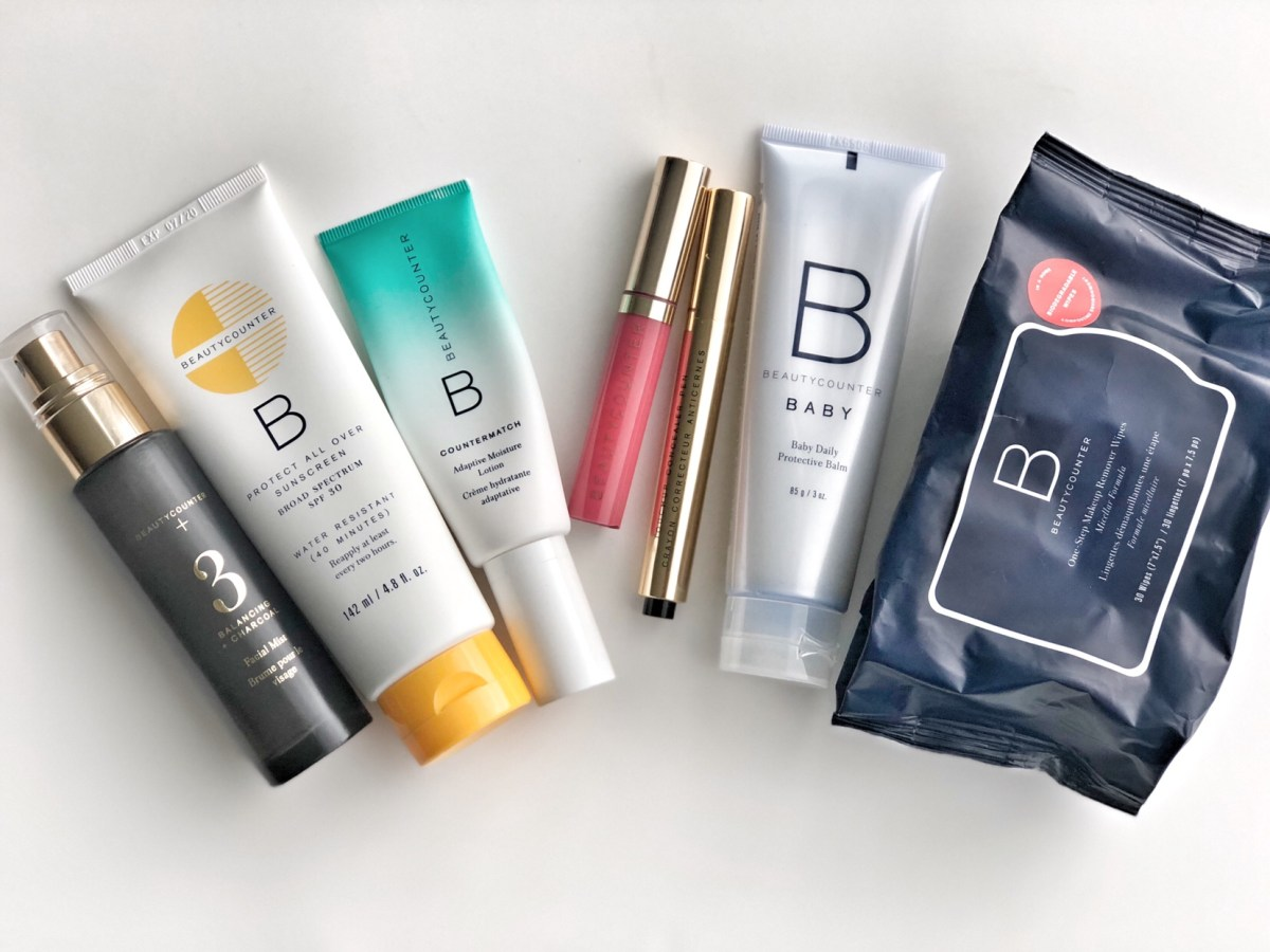 beautycounter favorites for mama on the go