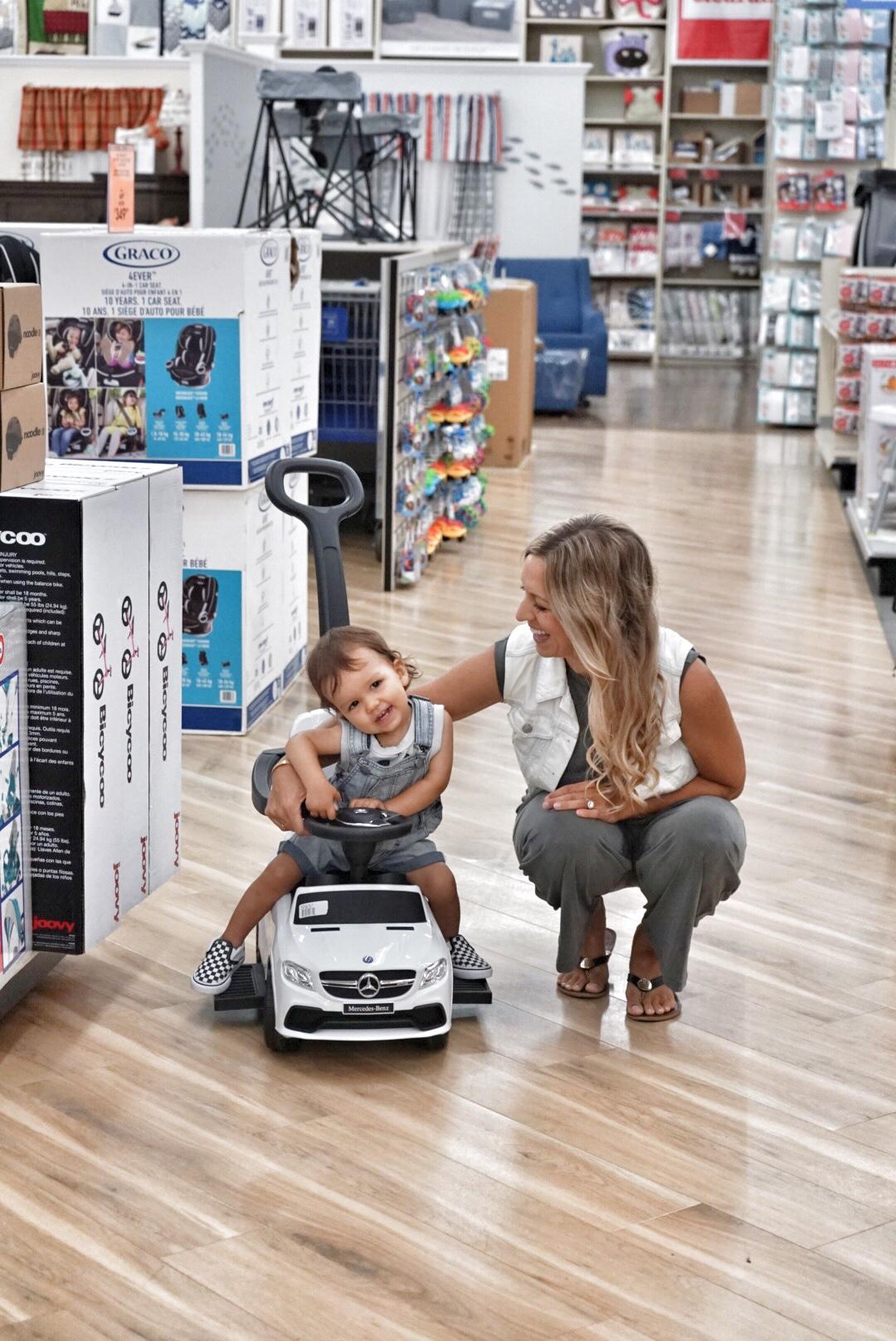 baby mercedes convertible