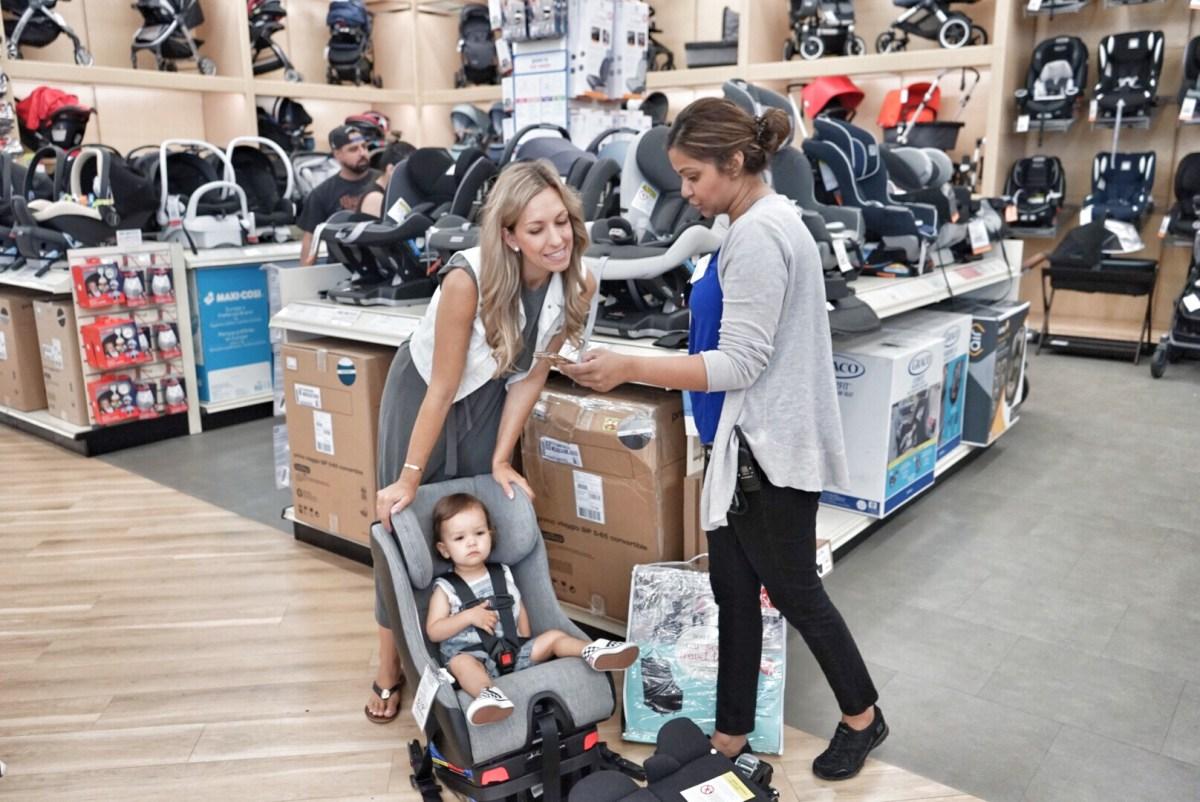 clek car seat shopping