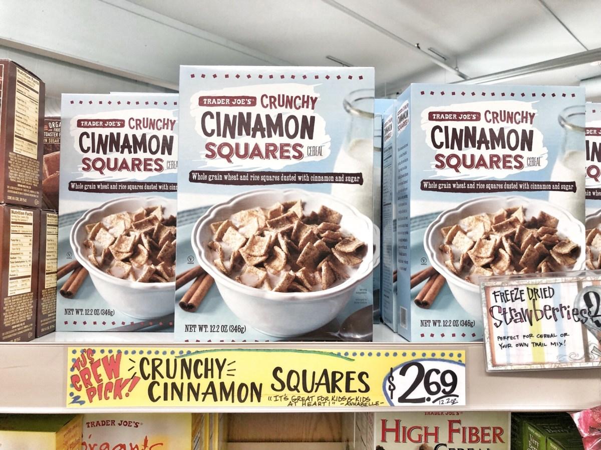 trader joes cinnamon squares