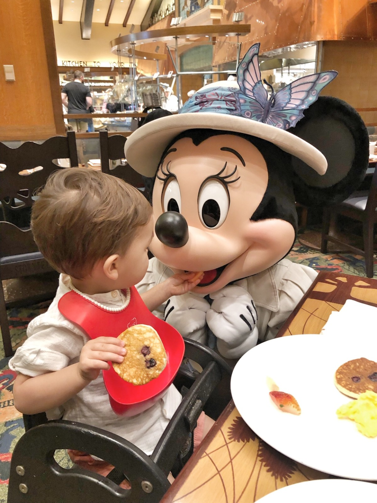 Breakfast with Minnie