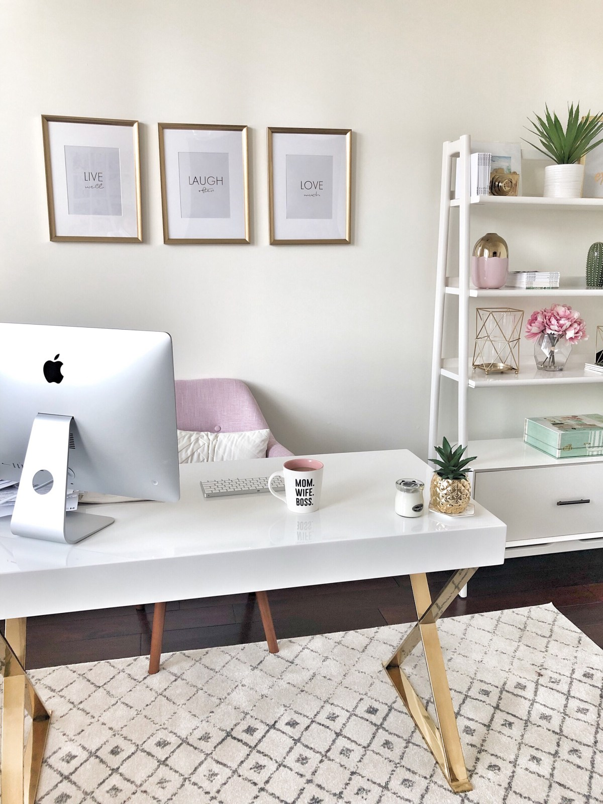 how to create a dreamy home office space