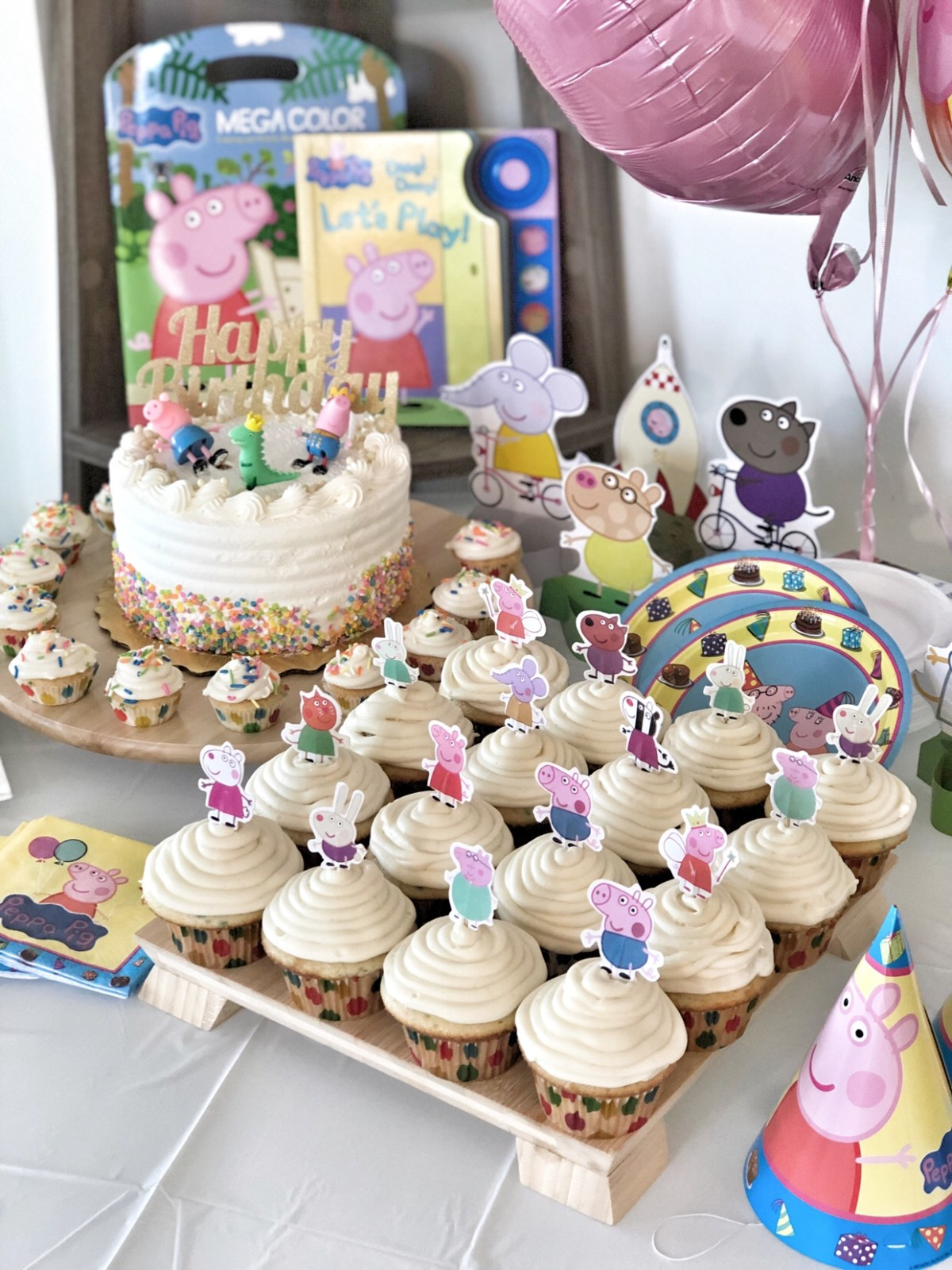 How to create a Peppa Pig themed Birthday Party
