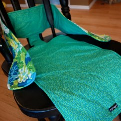 Cloth Portable High Chair Ikea Lycksele Bed Tutorial This Mama S Fab Travel Makes Stuff