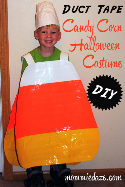 halloween costume ideas diy duct tape candy corn this