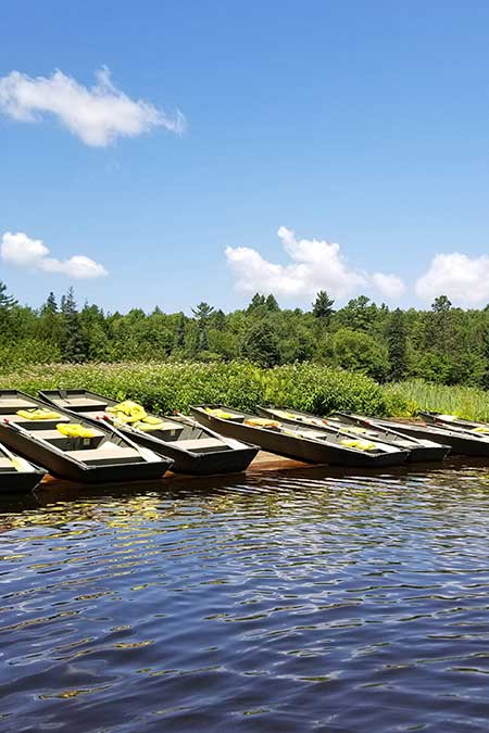 Row Boats Tahquamenon Falls