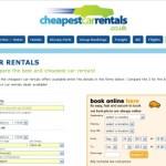 Cheapest Car Rentals