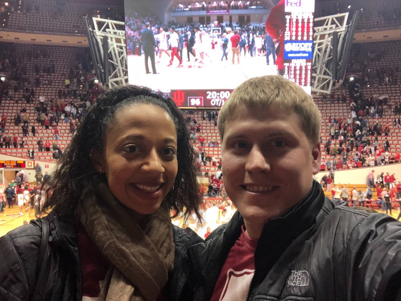 First Year Post-Transplant - IU Basketball Game