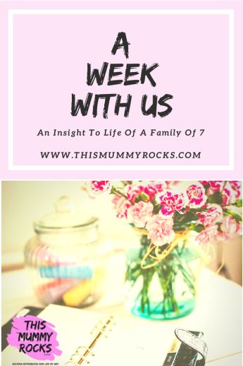 A Week With Us 23rd July-29th July 2018
